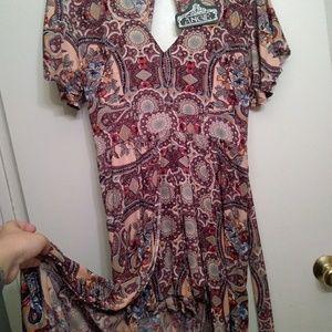 Angie Long Romper/Dress